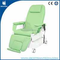 BT-DY002 Luxurious hospital medical machine electric dialysis chair with 3 motors