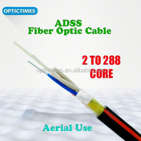 All dielectric Self-Supporting ITU-T G652D all dielectric self supporting fibre cable