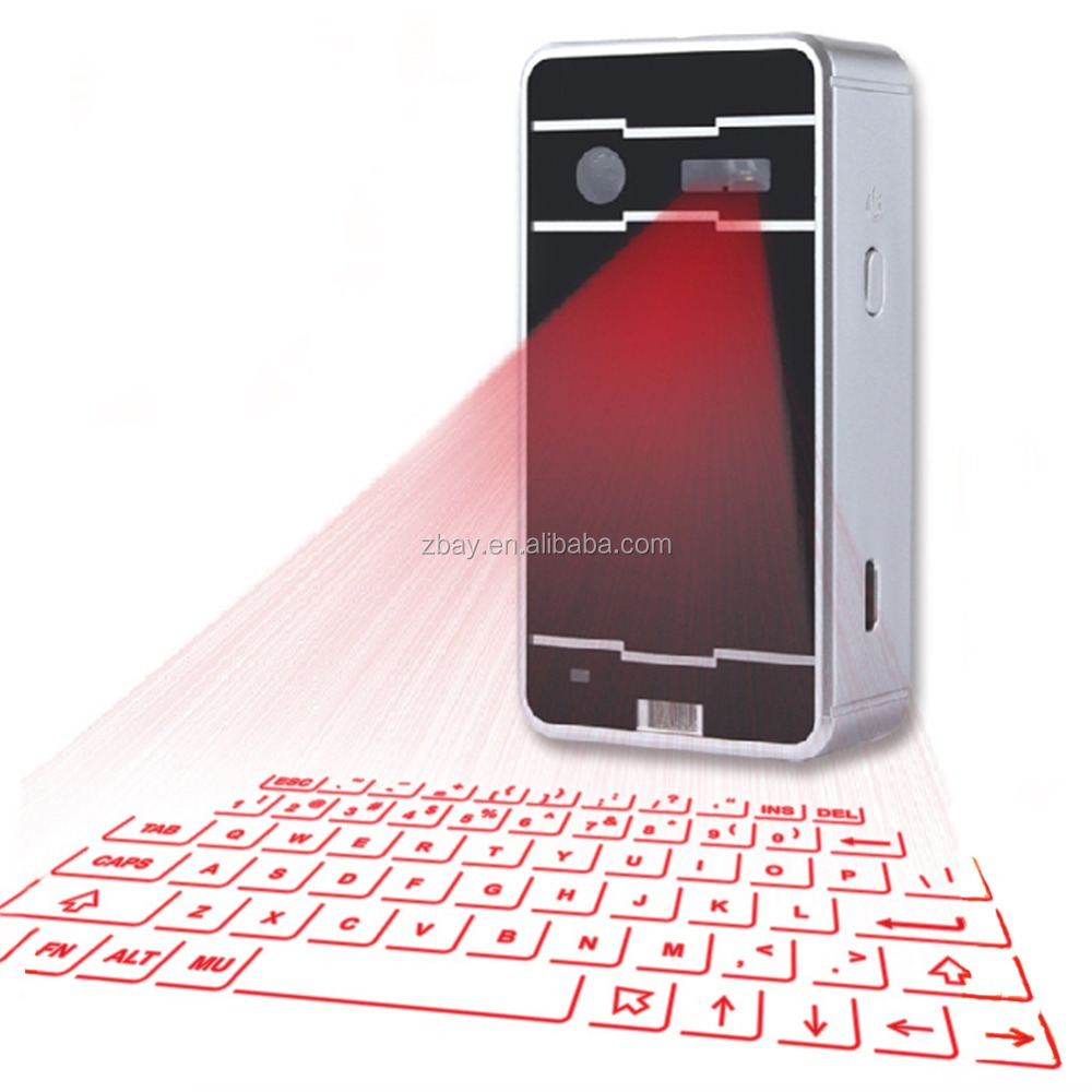 Portable Infrared Wireless Bluetooth Laser Projection Virtual Keyboard