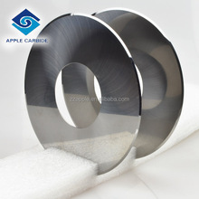 hot sale tungsten carbide disc cutters/carbide band saw blade/carbide slitting saw reliable quality for hardest steel