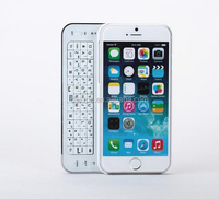 Portable sliding wireless bluetooth keyboard case for iPhone