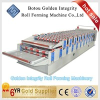 Steel Tile Type and Tile Forming Machine Type ibr roof sheet roll forming machine