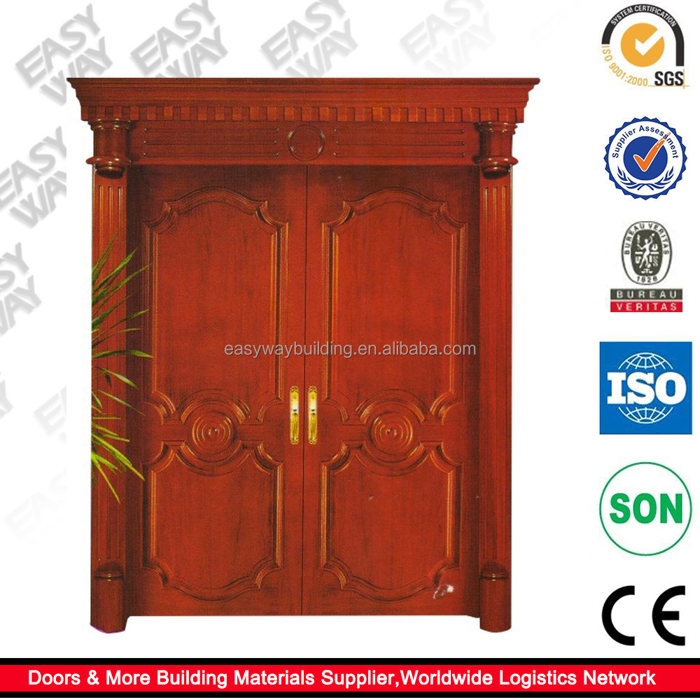 List Manufacturers of Apartment Solid Wood Entry Door, Buy ...