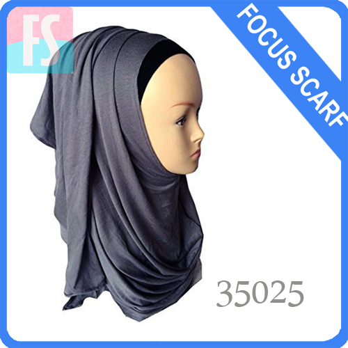 cotton jersey knitted hijab
