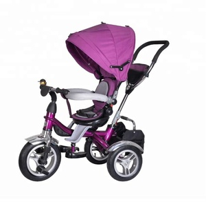 4 IN 1 Baby stroller baby pram tricycle, Cheap baby stroller tricycle kids push tricycle wholesale