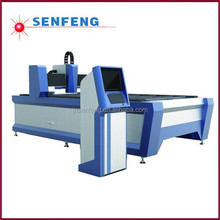SF1325 automatic focusing height follower metal laser cutting machine