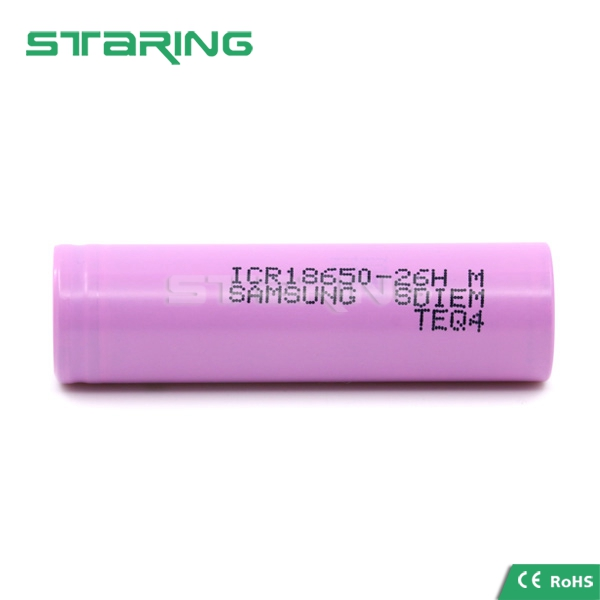 Original 18650 battery ICR18650-26HM/FM 3.7V 2600mah rechargeable battery