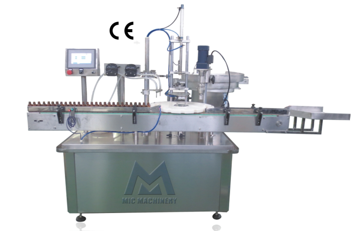 MIC-L40 Small Bottle Automatic E-liquid Filling and Capping Machine