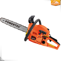 POWERTEC 58cc gas chainsaw with CE/GS