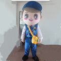 HOLA postman mascot costume/carnival costume for promotion