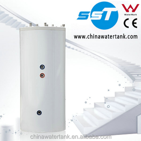 Polyurethane bubble insulating circulating bath water heater tank