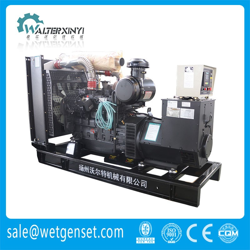 Shangchai diesel engine 250 kw 3 phase generator alternator price