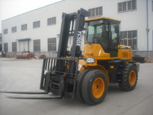 4X4WD all rough terrain forklift for canada and Europe market