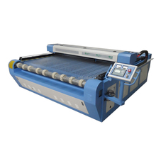 Automatic industrial fabric cutting machine for curtain / auto feeding cnc machine for blazer leather fabric