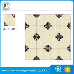 Made in China low price medallion marble floor pattern with certificate