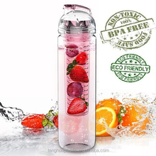 Custom Logo 27oz BPA FREE Tritan Fruit Infuser Water Bottle