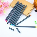 0.38mm needle tip fineliner drawing pen colored fineliner pen sketching pen