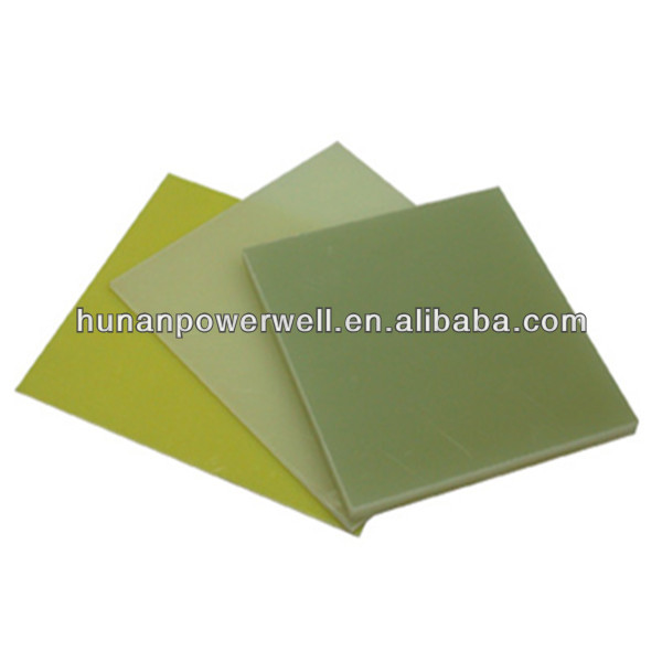 Natural color G10/FR4 epoxy glass fiber composite laminate sheet