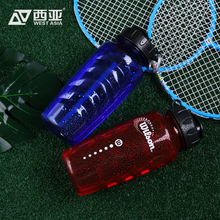 China supplier high quality bpa free 800ml water container red blue plastic different types water bottles