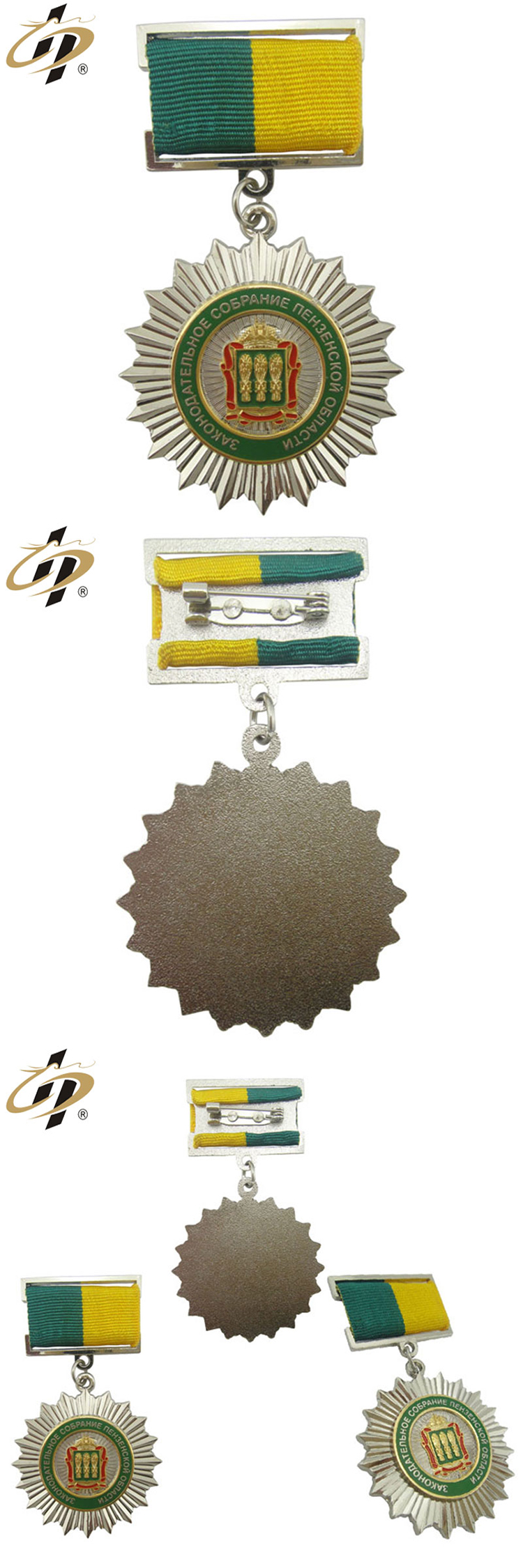 China making customized high quality metal souvenir medallion