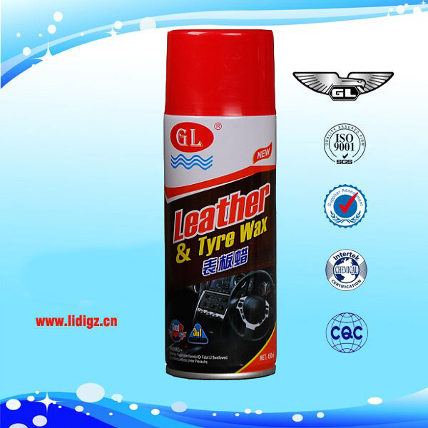 Auto dashboard wax polish spray wholesale
