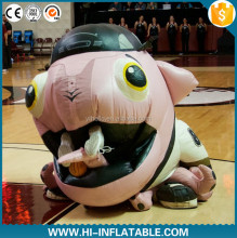 inflatable mascot costume that eats people for football and basketball matches