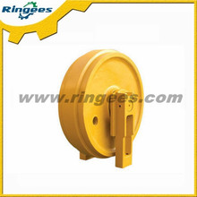 hot sale undercarriage parts front idler / idler wheel / idler roller used for Kobelco SK70SR-2 excavator spare parts