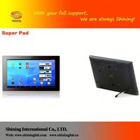 Shininglcd china super pad in wall android tablets
