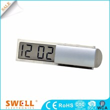 Hot sale key chain mini digital LCD clock with calendar