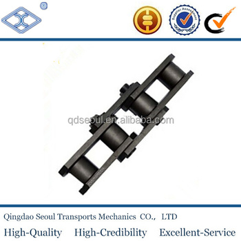 ISO DIN standard steel FV112 steel pitch 100mm FV series B type small roller conveyor chain