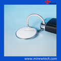 Small key chain wearable bluetooth push button ibeacon