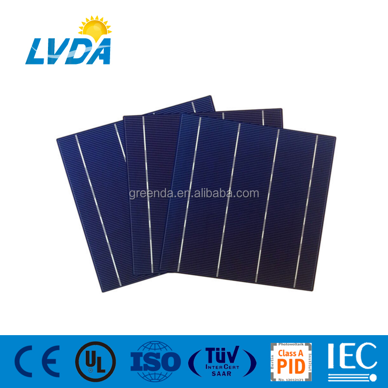 2016 hot sale! 4BB solar cells poly 156x156, 6 inch solar battery cell, cheap solar cell for sale