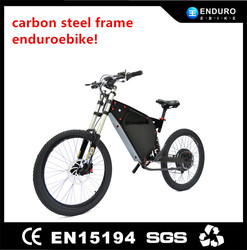 Enduro ebike, carbon steel frame 26 inch 48v 1000w electric scooter motorcycle