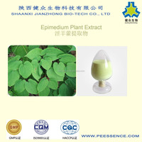 100% Pure Natural Epimedium Extract (Icariin CAS No.:489-32-7) 5%-98% by HPLC