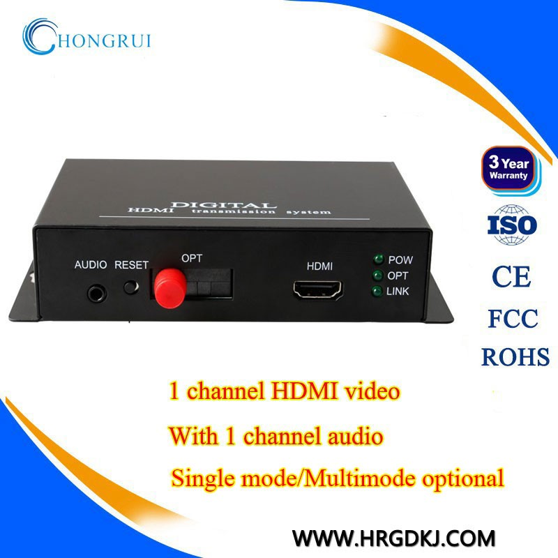 HDMI converter optic fiber video extender up to 20KM sell directly from factory