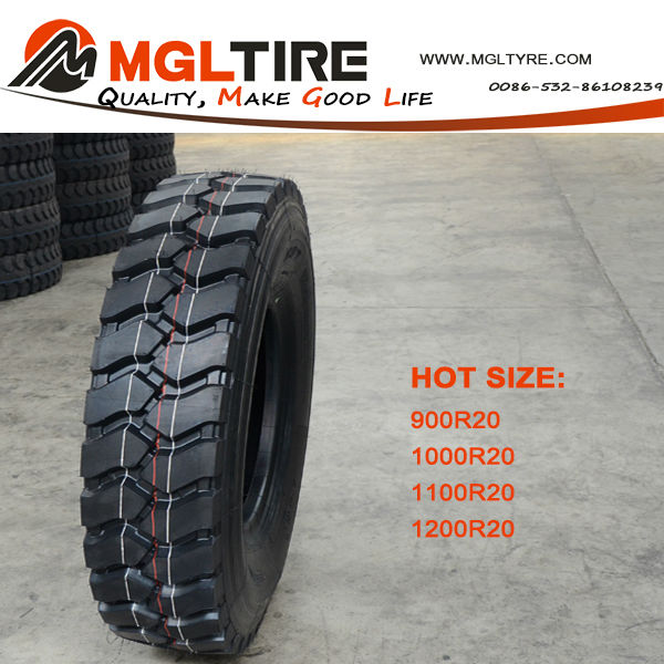 Popular style cheap price 9.00R20 10.00R20 11.00R20 12.00R20 radial truck tyre