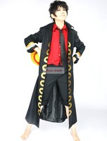 ShunShineFun-One Piece Film Strong World Monkey.D.Luffy Captain Anime Cosplay Costume