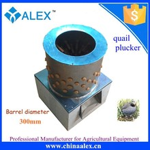 newest designed quail processing equipment bird plucker machine with plucker fingers