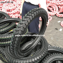3.00-18 QingDao factory wholesale Motorcycle Tire supply tyre parts 3.00-18