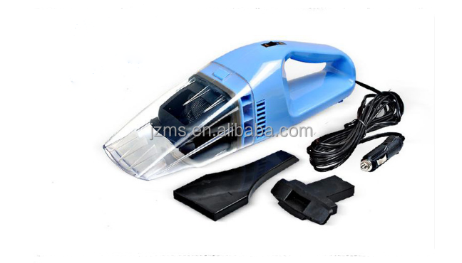 Blue color Car Cleaner with Super suction Dust Catcher wet and dry Handled Vacuum