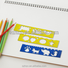 ruler plastic/plastic ruler with handle/plastic ruler 30cm