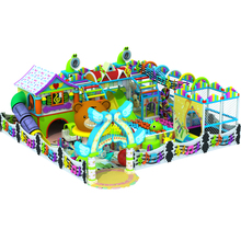 indoor soft playground Small Indoor Playground Children plastic playsets
