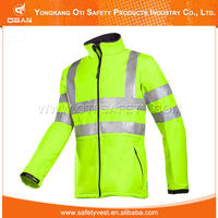 High Visibility Blue Safety Reflector Motorbike Jacket