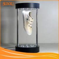 Magnetic Levitation Acrylic Display For Tide Shoes Showing