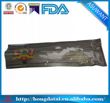 food plastic bag/long thin bag for seafood flexible packaging