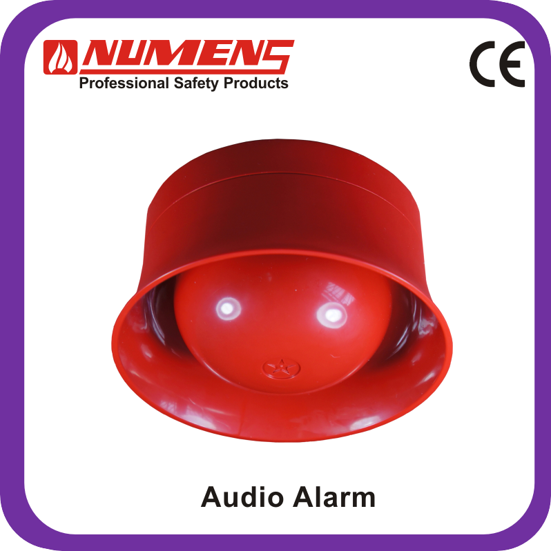 Fire Protection Equipment Audio Models White Alarm Detector