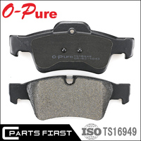 Auto parts Premium Quality Anti-noise Disc Rear Brake Pads For Mercedes Benz D1643 OEM 164 420 15 20