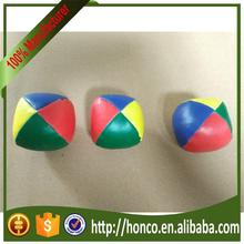 Valuable Supplier soft leather juggling ball made in China HC5858