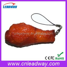 Novelty emulation chicken leg shaped usb flash disk