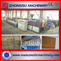 Wood floor panel making machine / wood plastic floor machine / pvc floor tile machine